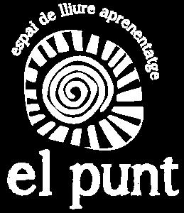 Logo el Punt color blanco